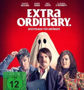 """Das Blu-ray-Cover von """"Extra Ordinary - Geisterjagd für Anfänger""""(© Universum Film)"""