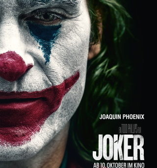 "Das Hauptplakat von ""Joker"" (©2019 Warner Bros. Entertainment Inc. All Rights Reserved. TM & © DC Comics)"