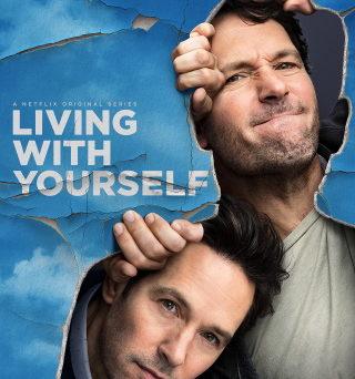 """Das Artwork der ersten Staffel von """"Living With Yourself"""" (© 2019 Netflix)"""