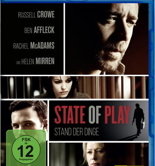 """Das Blu-ray-Cover von """"State Of Play"""" (© StudioCanal)"""