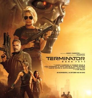 """Das Hauptplakat von """"Terminator Dark Fate"""" (© 2019 Twentieth Century Fox)"""