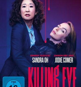 "Das DVD-Cover von ""Killing Eve Staffel 2"" (© Universal Pictures/BBC America)"