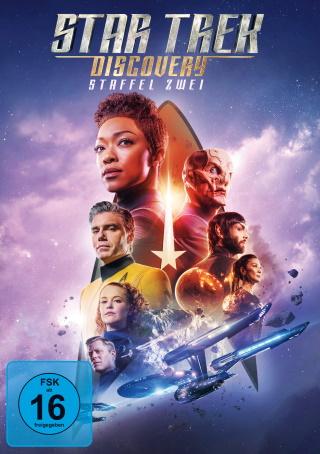 """Das DVD-Cover von """"Star Trek Discovery Staffel 2"""" (© Paramount Pictures. Alle Rechte vorbehalten.)"""