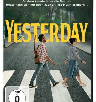 "Das DVD-Cover von ""Yesterday"" (© 2019 Universal Pictures)"