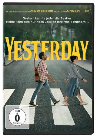 """Das DVD-Cover von """"Yesterday"""" (© 2019 Universal Pictures)"""