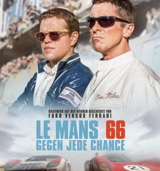 """Das Hauptplakat von """"Le Mans 66"""" (© 2019 Twentieth Century Fox)"""