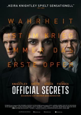 "Das Hauptplakat von ""Official Secrets"" (© 2019 eOne Germany)"