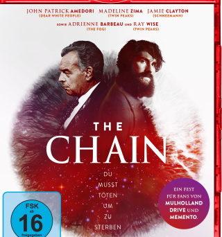 "Das Blu-ray-Cover von ""The Chain"" (© 2019 OFDb Filmworks)"