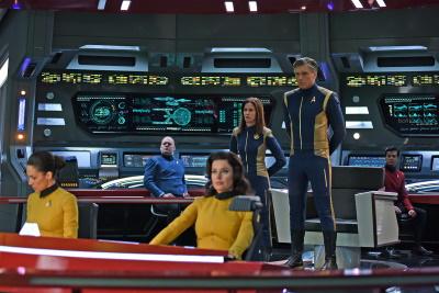 Captain auf Brücke (© Paramount Pictures. Alle Rechte vorbehalten.)