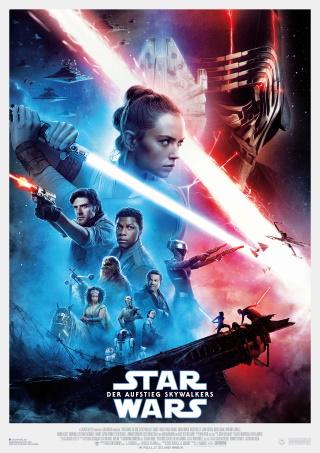 """Das Hauptplakat von """"Star Wars – Der Aufstieg Skywalkers"""" (© 2019 Disney)"""