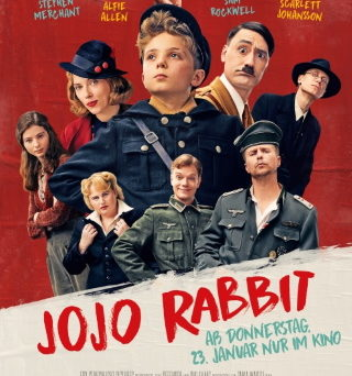 "Das Hauptplakat von ""Jojo Rabbit"" (© 2019 Twentieth Century Fox)"