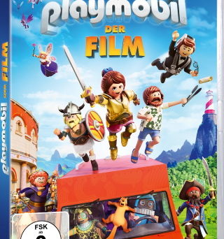 "Das DVD-Cover von ""Playmobil - Der Film"" (© Concorde Home Entertainment)"