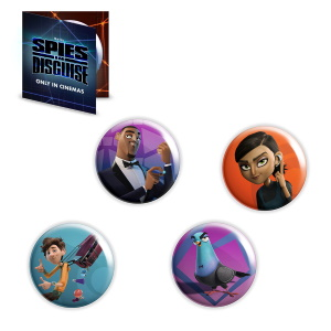 """""""Spione Undercover"""" Buttons"""