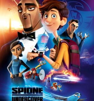 """Das Plakat von """"Spione Undercover"""" (© 2019 20th Century Fox)"""