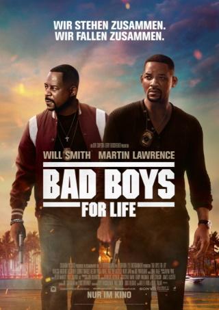 """Das Hauptplakat von """"Bad Boys For Life"""" (© 2019 Sony Pictures Entertainment Deutschland GmbH)"""