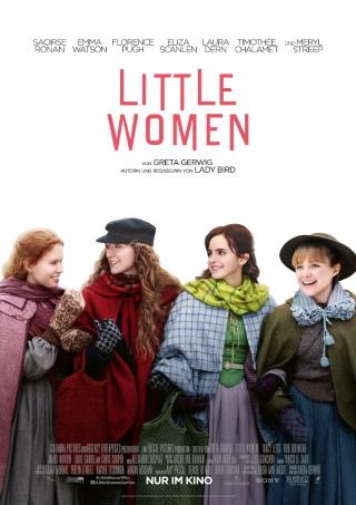 """Das Hauptplakat von """"Little Women"""" (© 2019 Sony Pictures Entertainment Deutschland GmbH)"""