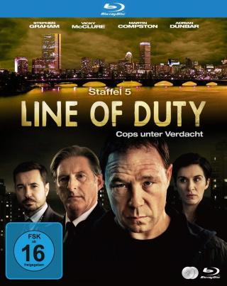 "Das Blu-ray-Cover von ""Line of Duty Staffel 5"" (© Justbridge Entertainment)"