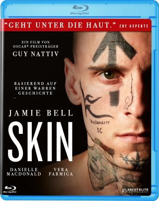 "Das Blu-ray-Cover von ""Skin"" (© Ascot Elite)"
