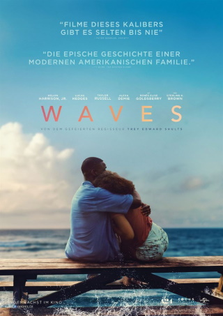 "Das Hauptplakat von ""Waves"" (© Universal Pictures International)"