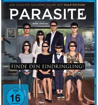 "Das Blu-ray-Cover von ""Parasite"" (© Koch Films/Capelight Pictures)"