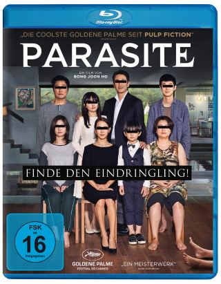 "Das Blu-ray-Cover von ""Parasite"" (© Koch Films/Capelight Pictures)"