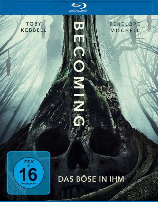 """Das Blu-ray-Cover von """"Becoming - Das Böse in ihm""""(© Leonine/Universum Film)"""