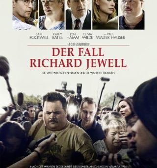 "Das Hauptplakat con ""Der Fall Richard Jewell"" (© Warner Bros Pictures)"