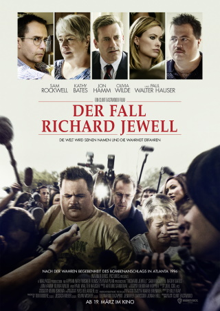 "Das Hauptplakat con ""Der Fall Richard Jewell"" (© Warner Bros Pictures)"