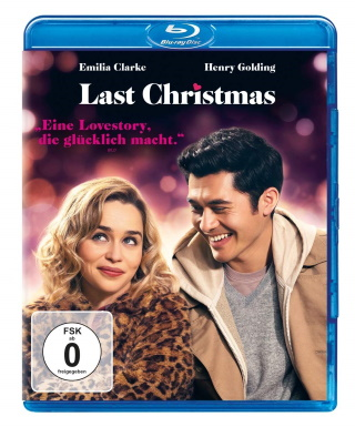"""Das Blu-ray-Cover von """"Last Christmas"""" (© Universal Pictures)"""