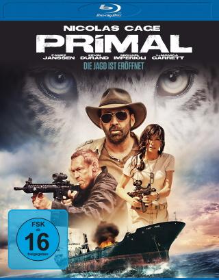 """Das Blu-ray-Cover von """"Primal – Die Jagd ist eröffnet"""" (© Universum Film)"""