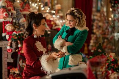 """Zwischen Kate und """"Santa"""" ist es längst nicht immer derart friedlich (© Universal Pictures)"""