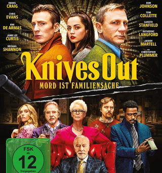 "Das Blu-ray-Cover von ""Knives Out"" (© Leonine Distribution)"