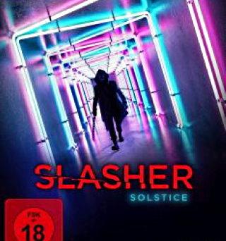 "Das Blu-ray-Cover von ""Slasher Solstice"" (© Justbridge Entertainment)"
