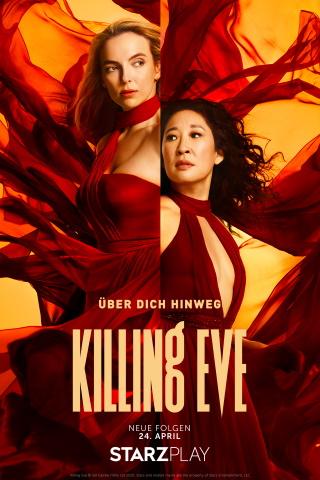 "Das Hauptplakat von ""Killing Eve Staffel 3"" (© Starzplay)"