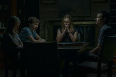 Familie Byrde hat Gesprächsbedarf (© Netflix)