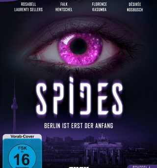 "Das Blu-ray-Cover von ""Spides Staffel 1"" (© Eye See Movies)"