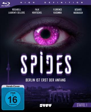 """Das Blu-ray-Cover von """"Spides Staffel 1"""" (© Eye See Movies)"""