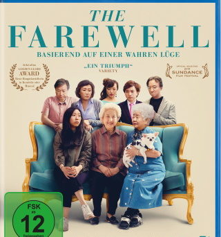 "Das Blu-ray-Cover von ""The Farewell"" (© DCM)"
