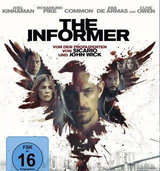 """Das Blu-ray-Cover von """"The Informer"""" (© Wild Bunch/Leonine)"""