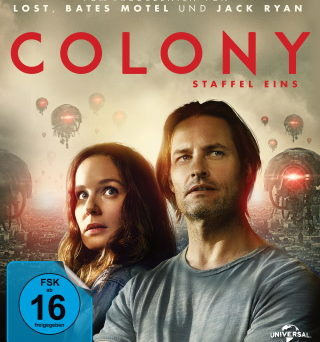 "Das Blu-ray-Cover von ""Colony - Staffel 1"" (© Pandastorm Pictures)"
