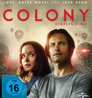 "Das Blu-ray-Cover von ""Colony - Staffel 1"" (© Pandastorm Pictures)"