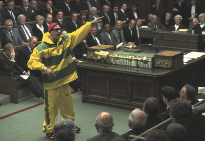Ali zeigt der Politik die Richtung an (© Universal Pictures)