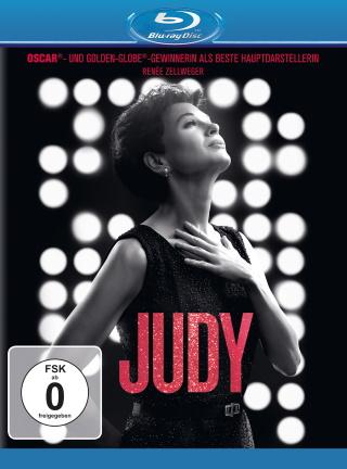 """Das Blu-ray-Cover von """"Judy"""" (© Entertainment One Films Germany Inc. Alle Rechte vorbehalten.)"""