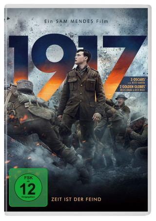 """Das DVD-Cover von """"1917"""" (© 2020 Universal Pictures)"""