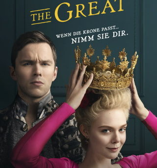 "Das Plakat von ""The Great"" (© Starzplay)"