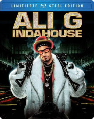 """Das Steelbook-Artwork von """"Ali G in da House"""" (Justbridge Entertainment)"""