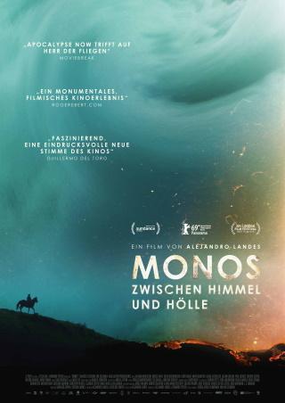 """Das Hauptplakat von """"Monos – Zwischen Himmel und Hölle"""" (© DCM)"""