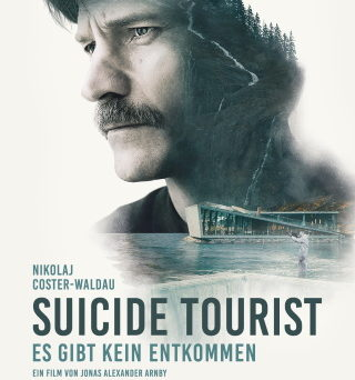 """Das Hauptplakat von """"Suicide Tourist - Es gibt kein Entkommen"""" (© DCM)"""