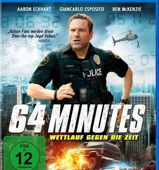 """Das Blu-ray-Cover von """"64 Minutes"""" (© Koch Films)"""