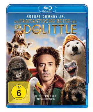 """Das Blu-ray-Cover von """"Die fantastische Reise des Doktor Dolittle"""" (© 2020 Universal Pictures)"""